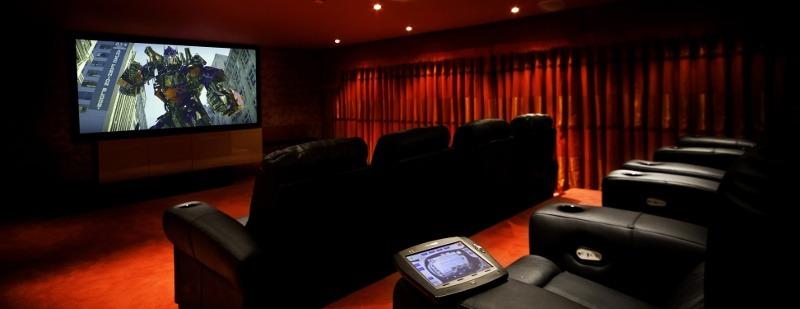 dedicated home cinema installation Marbella